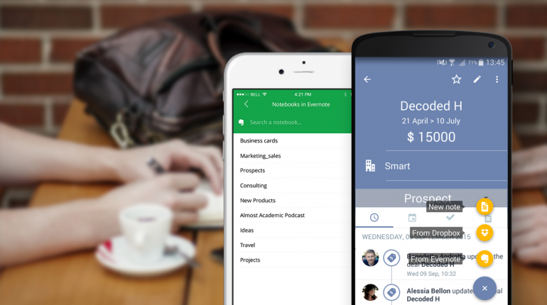 Using Evernote as a CRM with Sellf