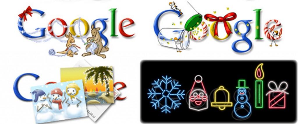 Google Christmas Doodles