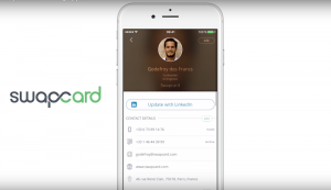 Swapcard screenshot ice breaking app