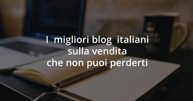 blog italiani sulla vendita