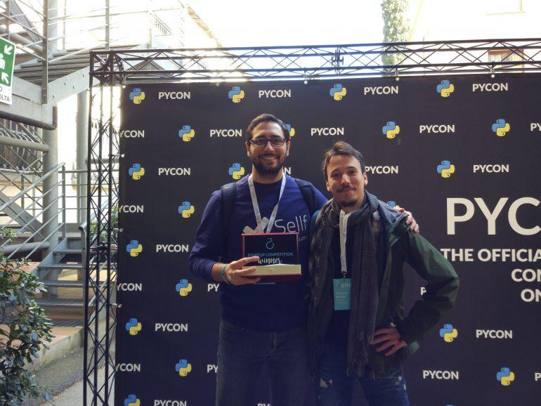 vincitori della Startup Competition al Pycon 8