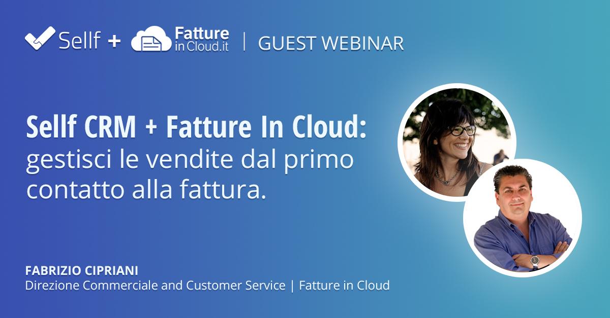 Sellf CRM + Fatture in Cloud