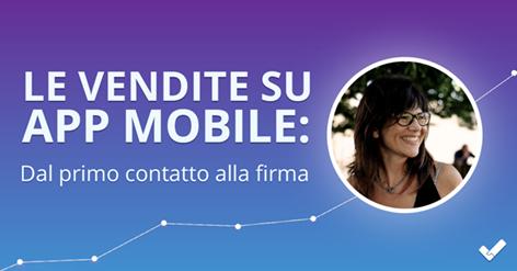Le Vendite su AppMobile