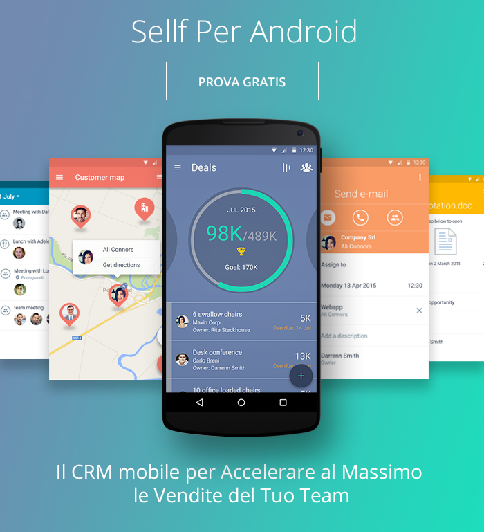 Sellf Per Android