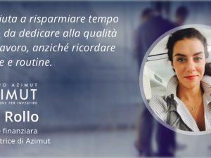 CRM e consulenti finanziari: l'esperienza con Sellf di Laura Rollo di Azimut