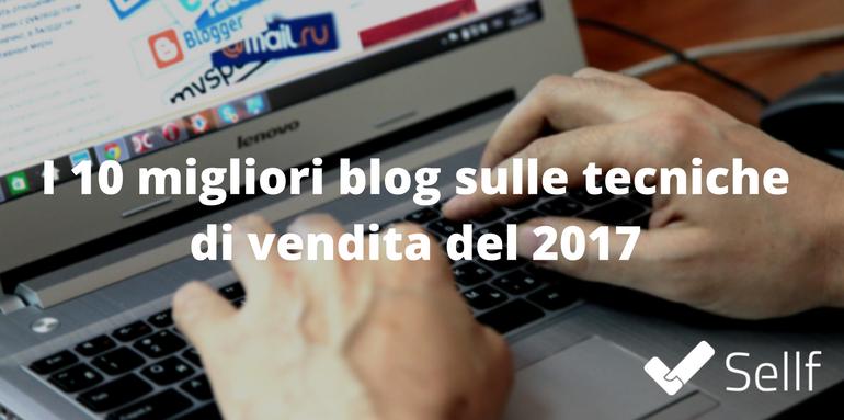 migliori blog tecniche di vendita 2017