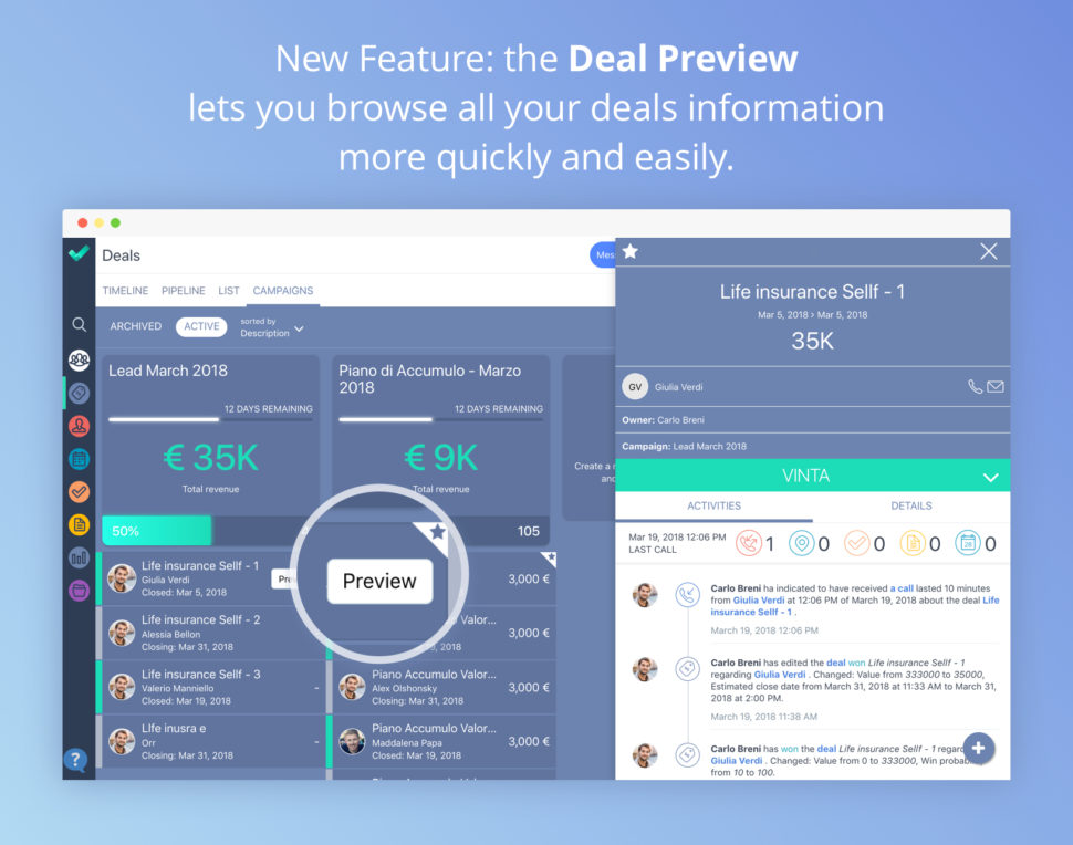 Deal Preview