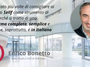 Perchè scegliere un CRM in Italiano: l'esperienza di Enrico Bonetto con Sellf