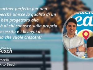 Click to Beach e Sellf CRM: far crescere la propria rete vendita innovando i servizi turistici