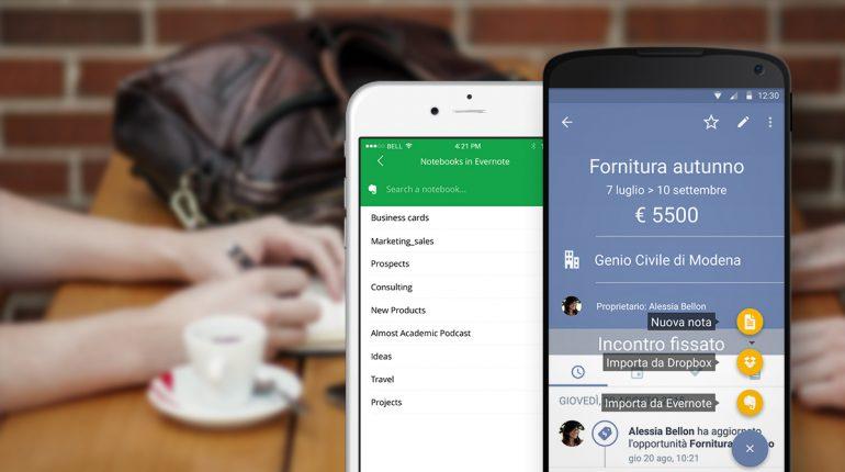 Evernote diventa uno strumento di business con Sellf
