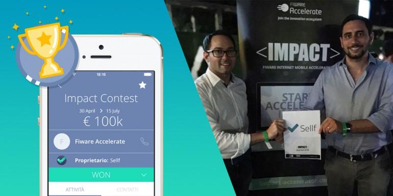Sellf vince Impact Accelerator