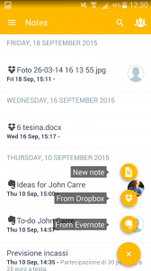 Sellf for Android - notes
