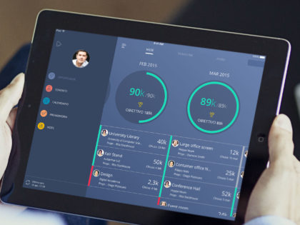 "Ipad Italia: ""Sellf, the personal CRM for sales"""