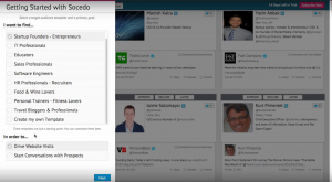 Socedo screenshot