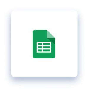 Integrations - Google Sheets