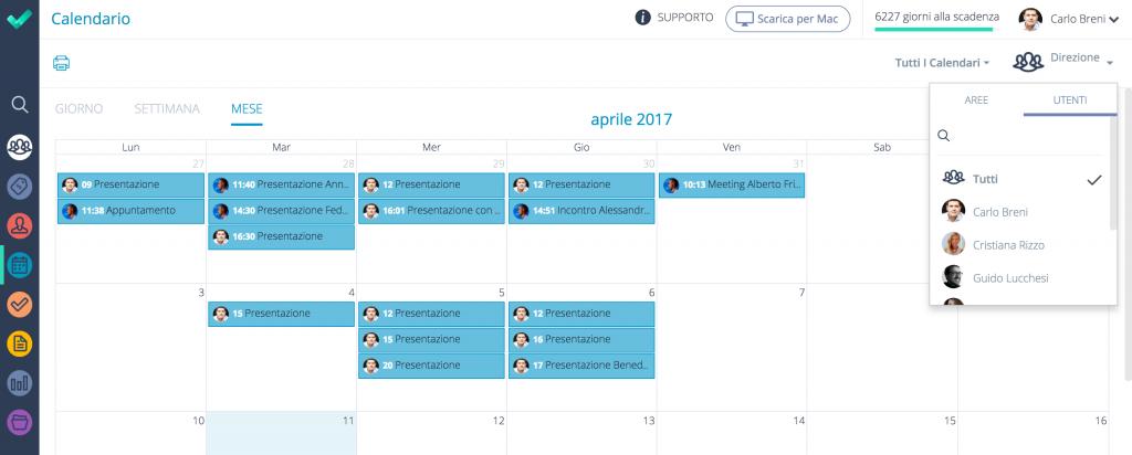App organizzazione appuntamenti