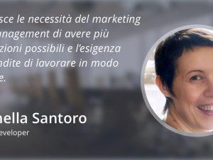 Sellf come strumento per il business development: la testimonianza di Antonella Santoro.