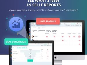 New features in Sellf Reports: Loss reasons and Deals conversion