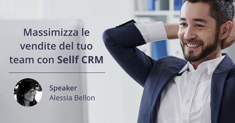 Massimizza le vendite del tuo team con Sellf CRM