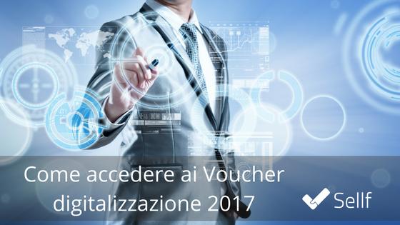 Voucher digitalizzazione CRM