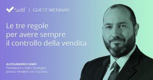 Sellf Webinar Guest - Alessandro Fumo